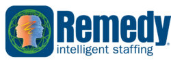 Remedy Staffing/XPO Logo