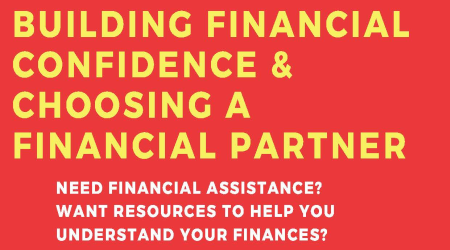 Building Financial Confidence BBT flyer