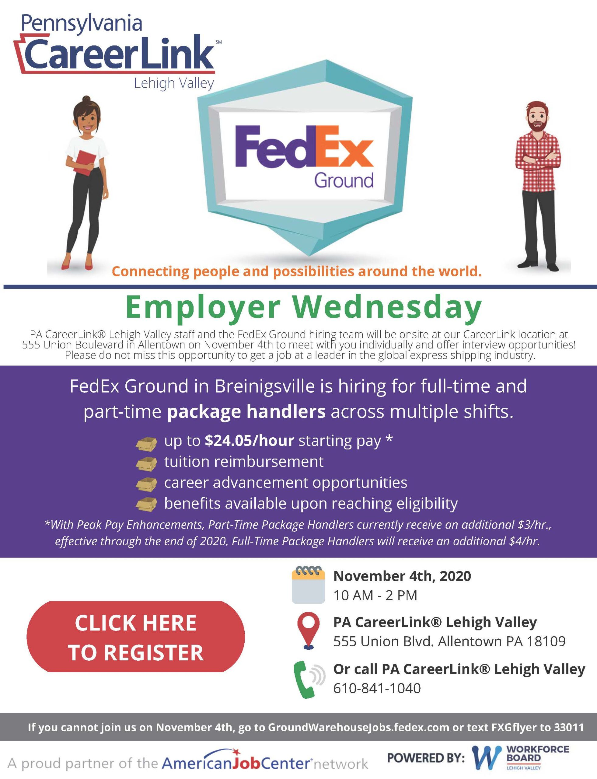 FedEx Employer Wednesday