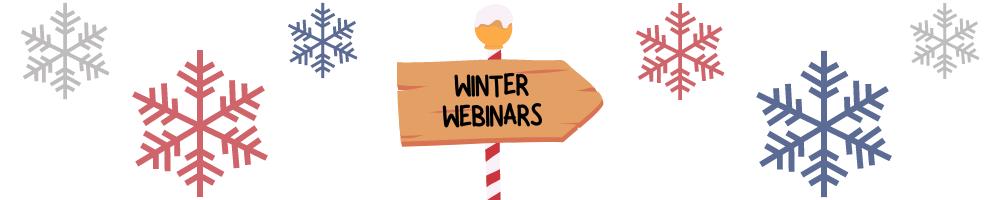winter webinars banner