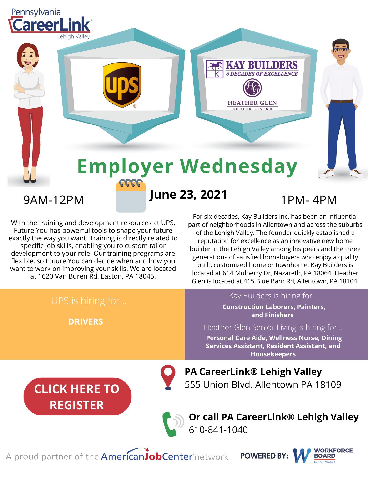 Employer Wednesday