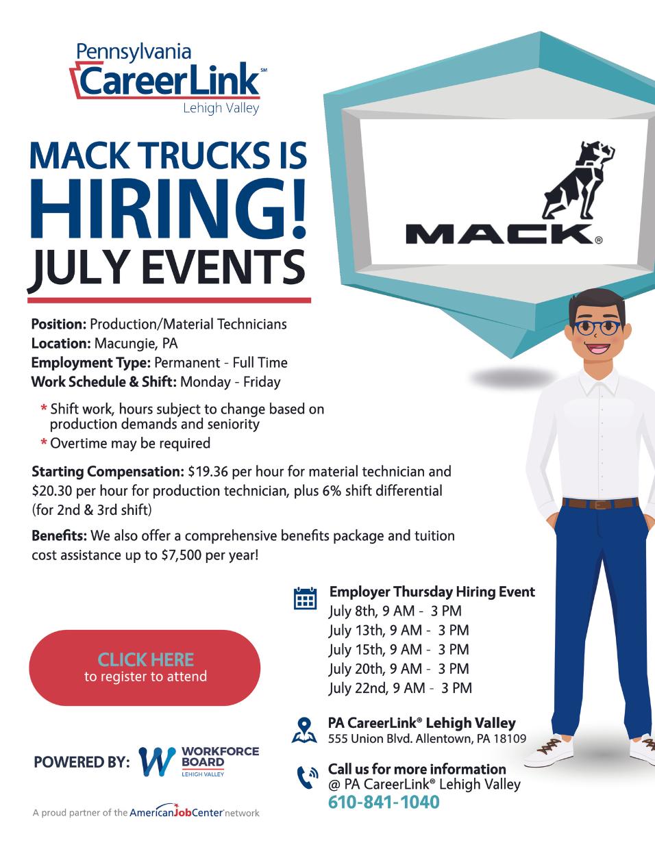 Mack Trucks is Hiring