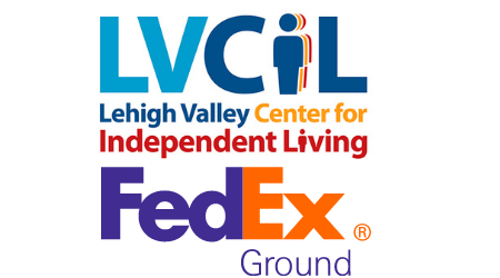 LVCIL and FedEx Logos