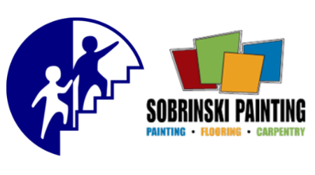 Step by Step Inc and Sobrinski Painting logos