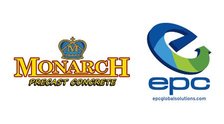 EPC USA and Monarch Precast Concrete logos
