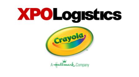 XPO Logistics & Crayola logos