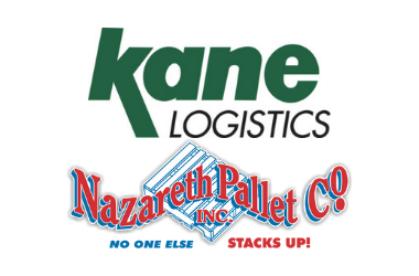 Kane Logistics & Nazareth Pallet Co Logos