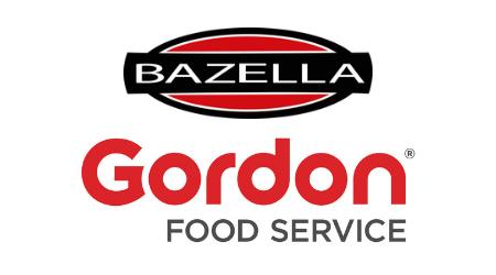 Bazella & Gordon Food Service logos